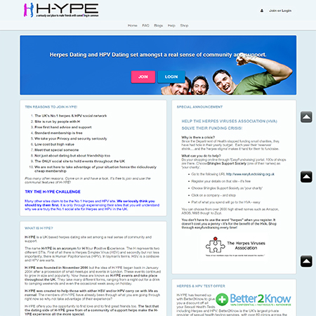 1 Herpes Dating Site & App for HSV Singles